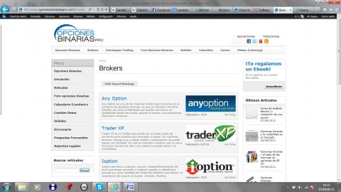 brokers opcionesbinariaspro.com