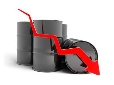 La caída del petróleo