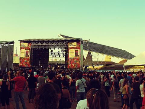 Los festivales y la promoción