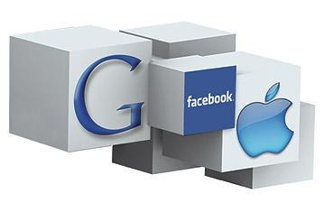 Google, Facebook y Apple en el podio de las compras