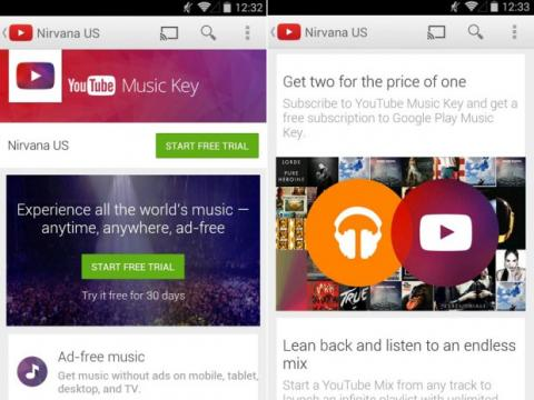 Google y Youtube Music Key