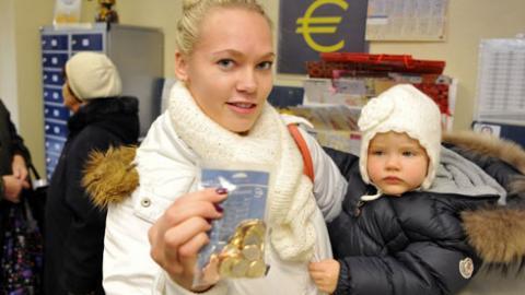 Letonia y el euro