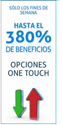 Opciones One Touch en Any Option