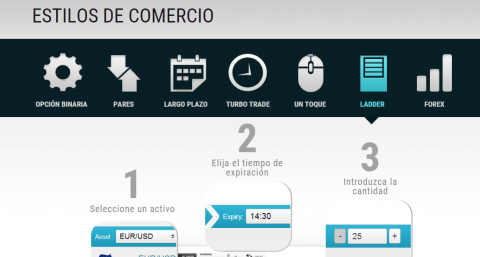operaciones interactive option