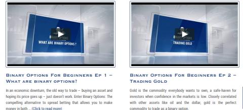 Vídeos en Banc de Binary